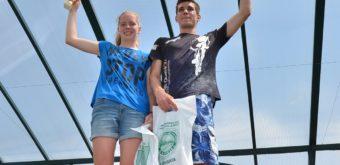 6. Súrodenci Tadeáš a Lýdia Drahovskí z Piešťan, víťazní juniori na 10 km.