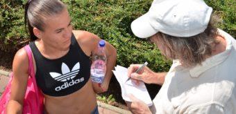 V Trebaticiach nový traťový rekord Lucie Janečkovej