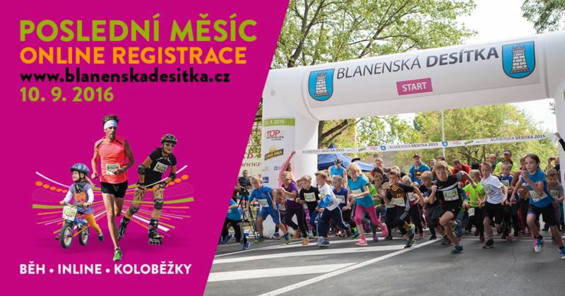 Blanenská desítka – 10. 9. 2016