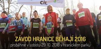 4. ročník HRANICE BĚHAJÍ – 29. 10. 2016