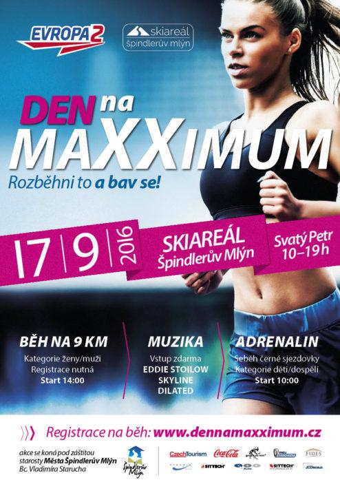 Den na maXXimum, závod 9 km Špindlerův Mlýn – 16. 9. 2016