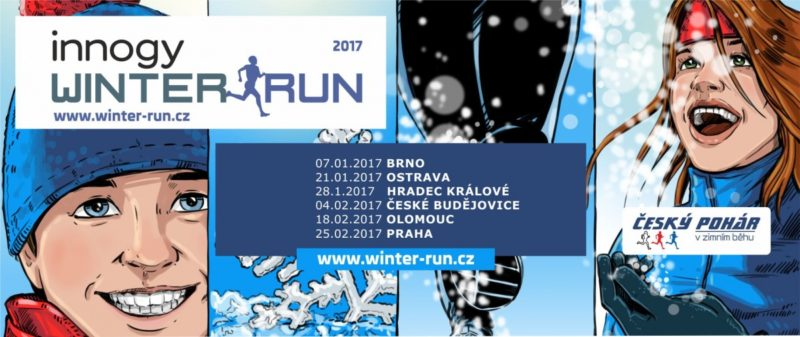 Innogy Winter Run Praha – 25. 2. 2017