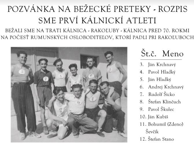 Beh Kálnica – Rakoľuby – Kálnica – 8. 4. 2017