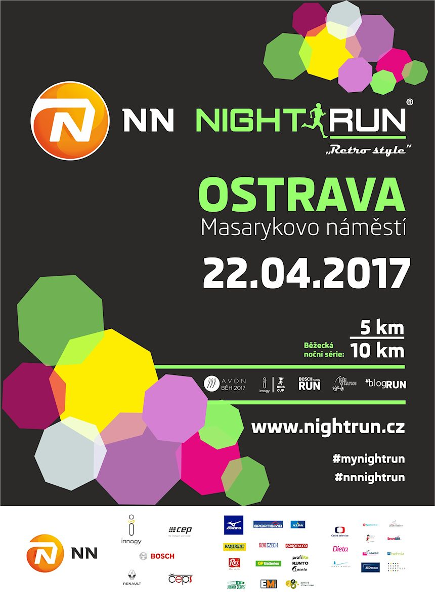 NN NIGHT RUN OSTRAVA – 22. 4. 2017