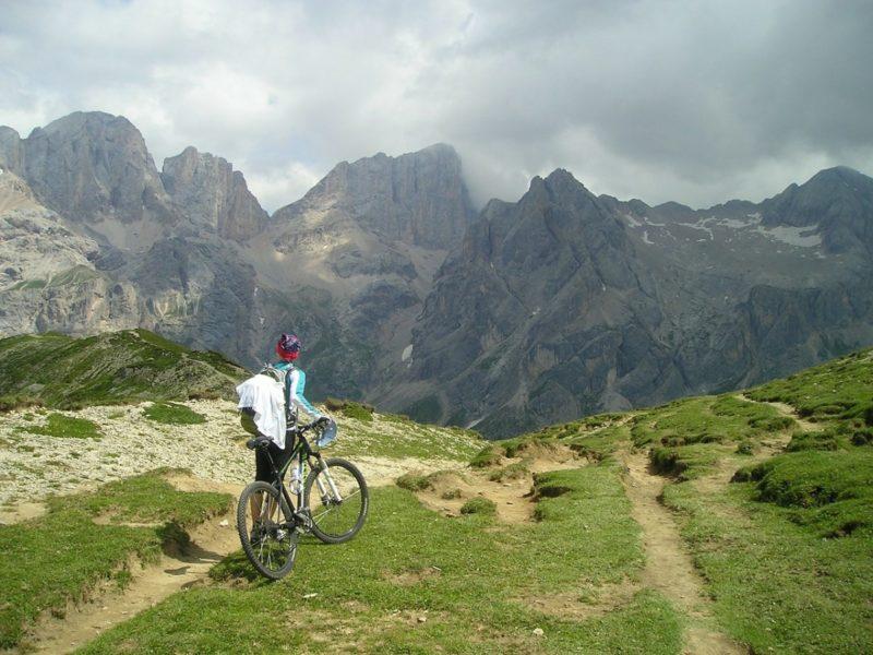 cyklistika v přírodě