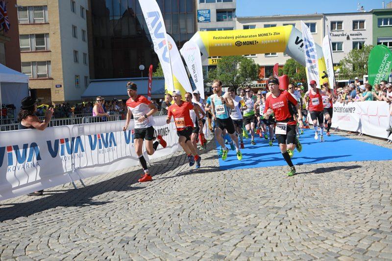 3. ročník Festivalového půlmaratonu MONET+ Zlín – 2. 6. 2018