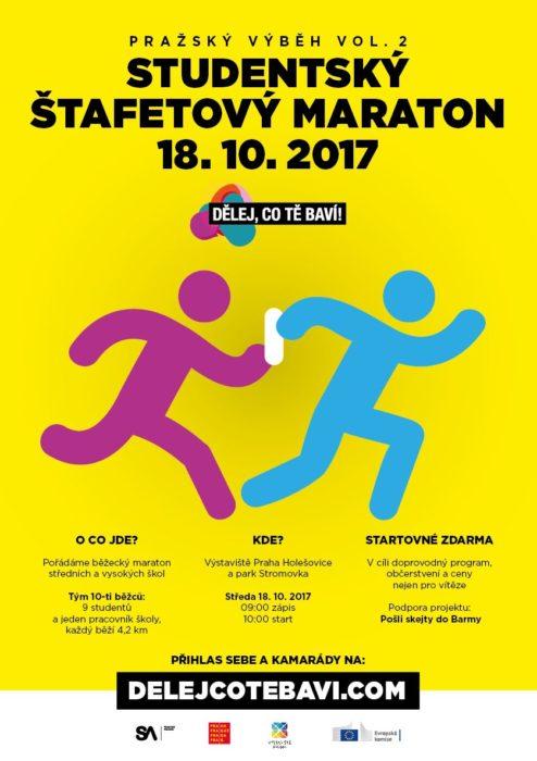 Studetský štafetový maraton – 18. 10. 2017
