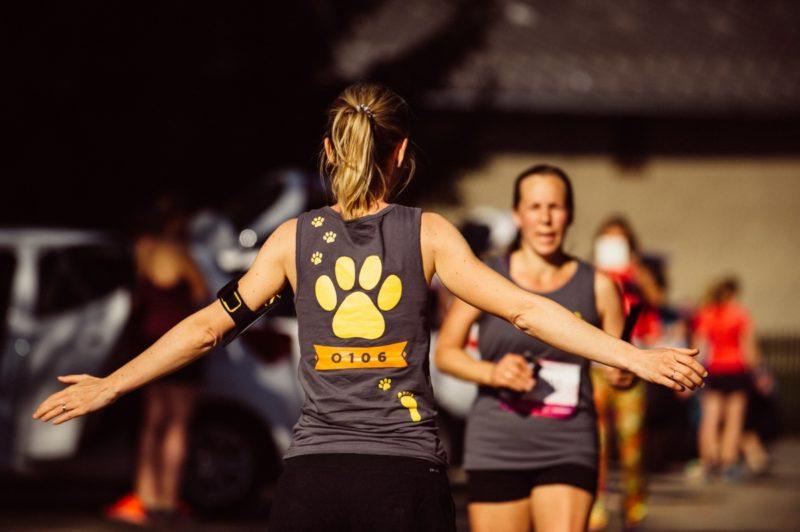 NoMen Run 2018 předávka štafety