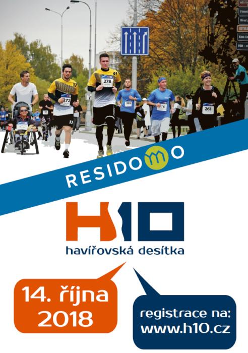 4. ročník Residomo Havířovská desítka – 14. 10. 2018