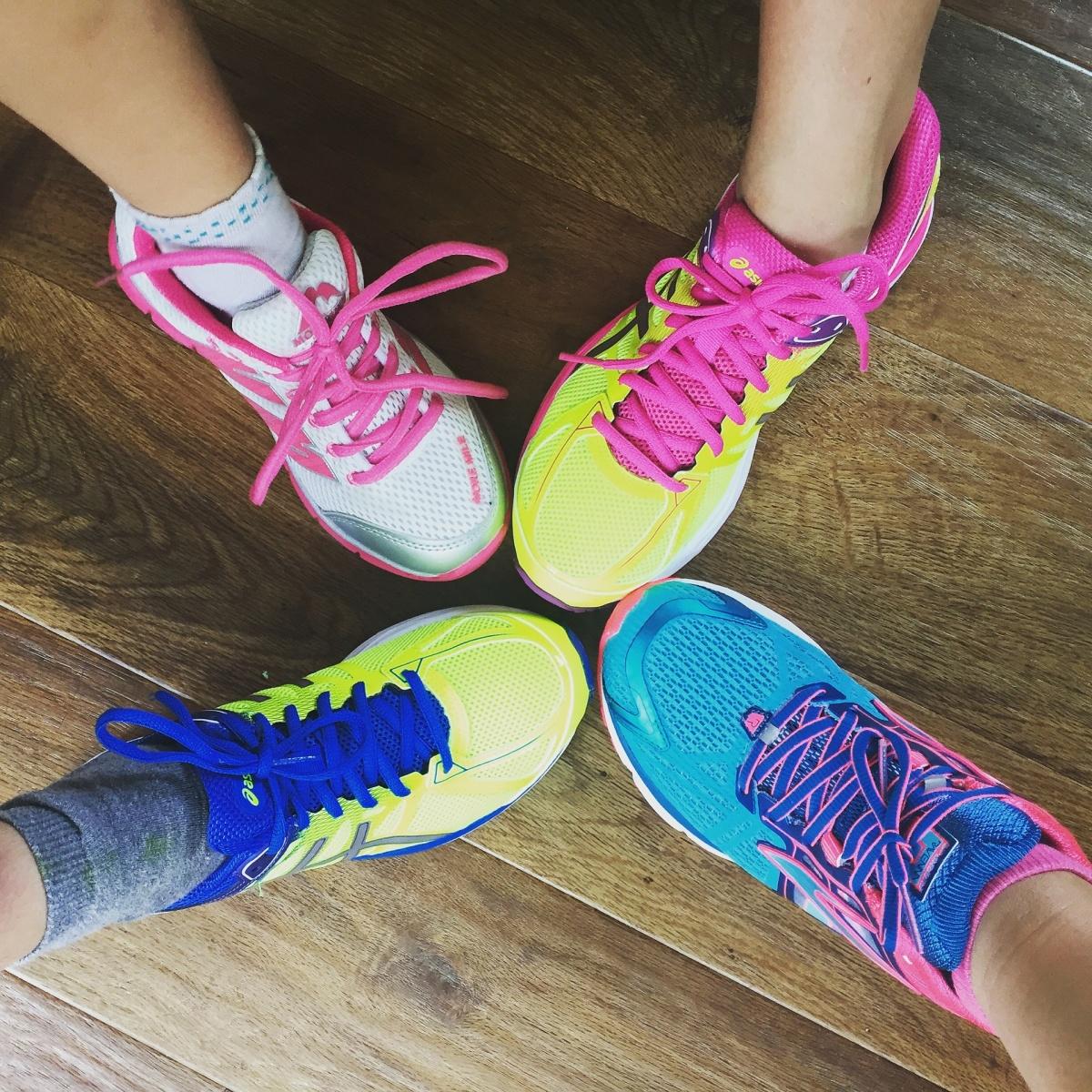 běžecké boty podzim