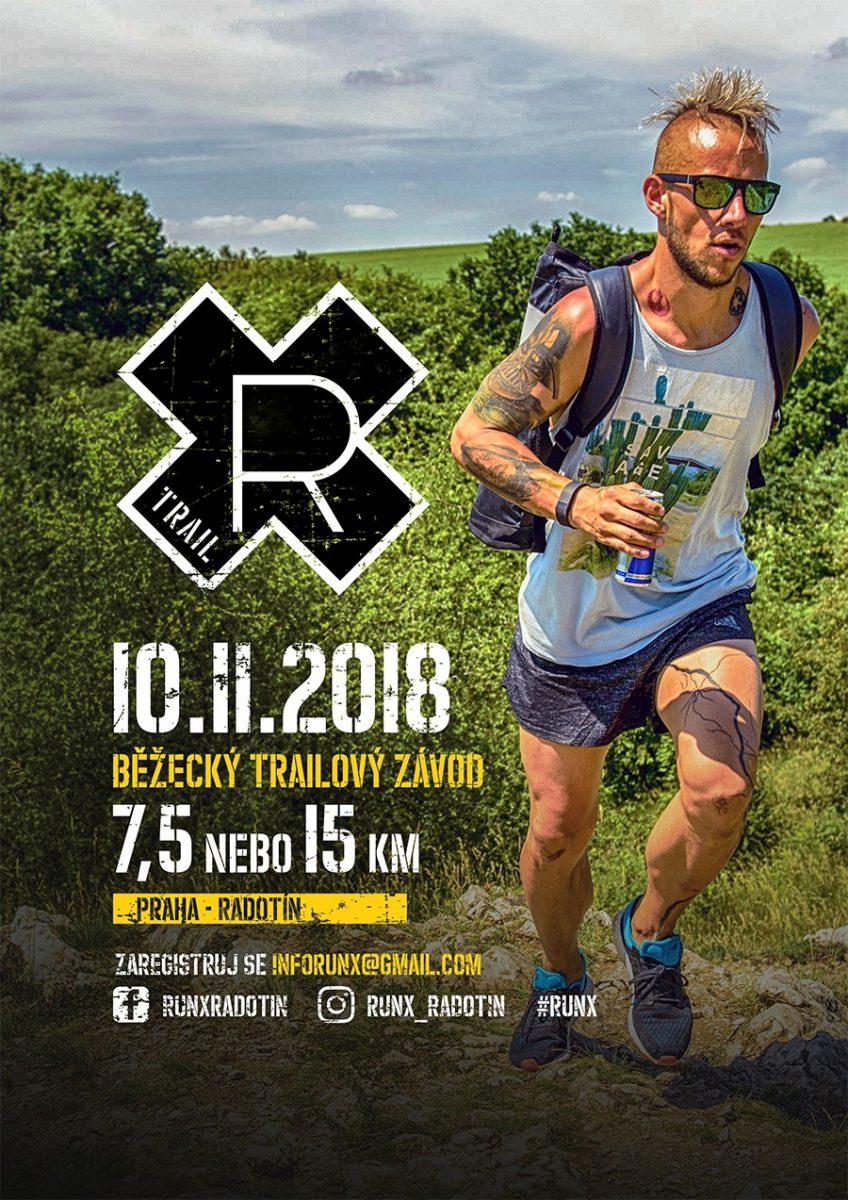 2. běžecký trailový závod v Radotíně RunX – 10. 11. 2018