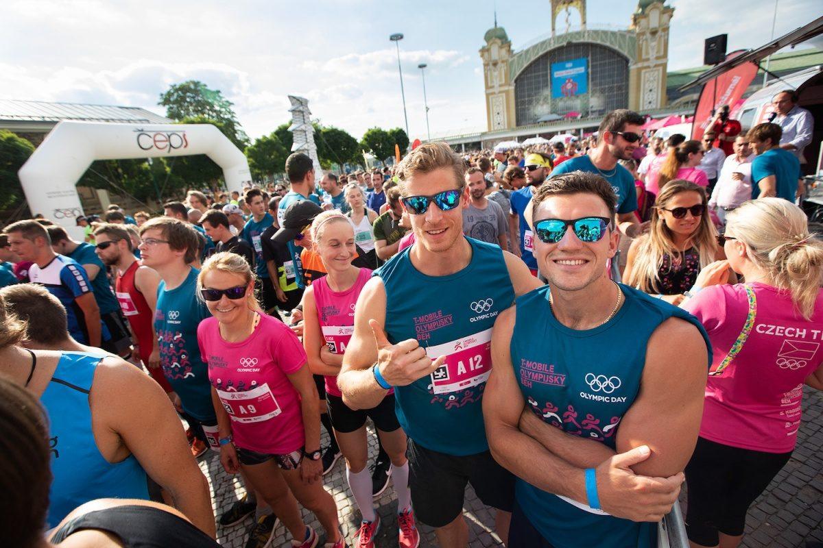T-Mobile Olympijský běh – 19. 6. 2019