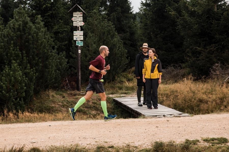 Běhej lesy 2019 Jizerská