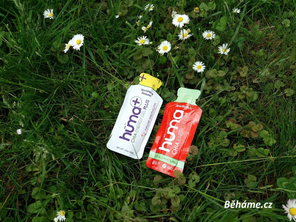 Přírodní energetické gely Hüma s chia semínky