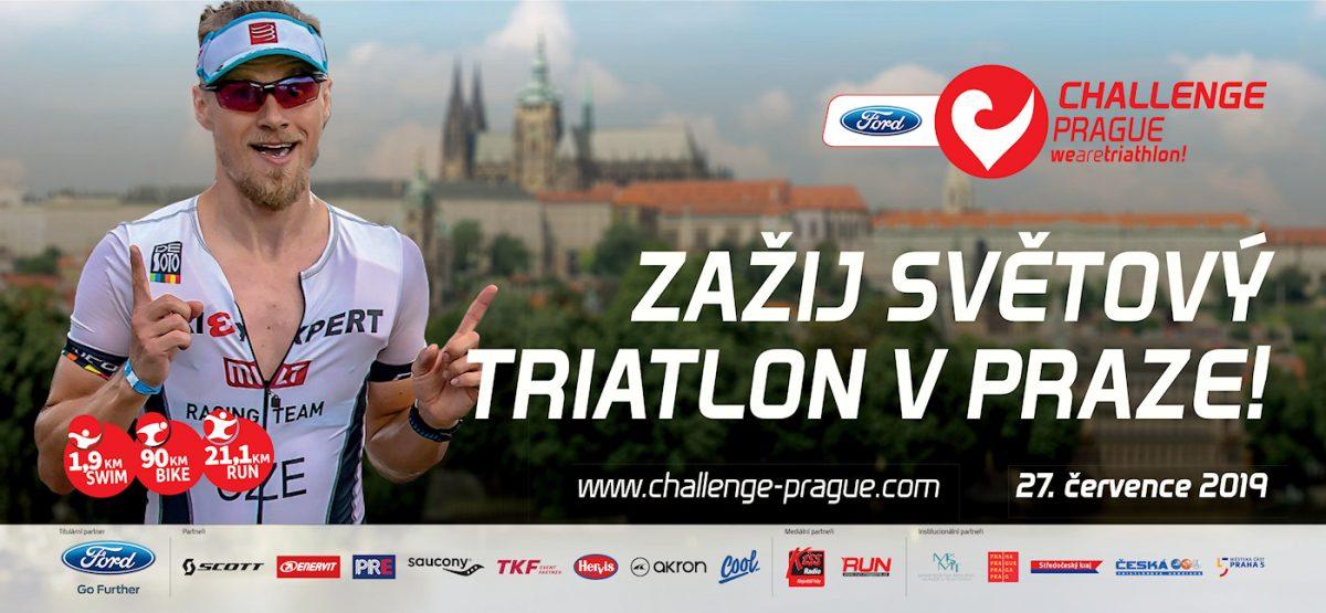 Centrum Prahy ožije už za měsíc světovým triatlonem FORD CHALLENGEPRAGUE