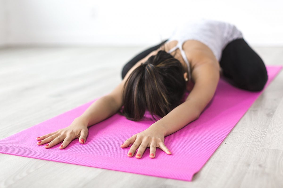 regenerace jóga