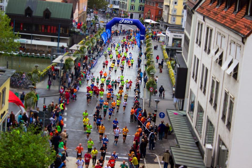 start maratonu