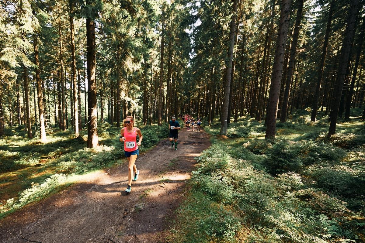 Běhej lesy Jizerská
