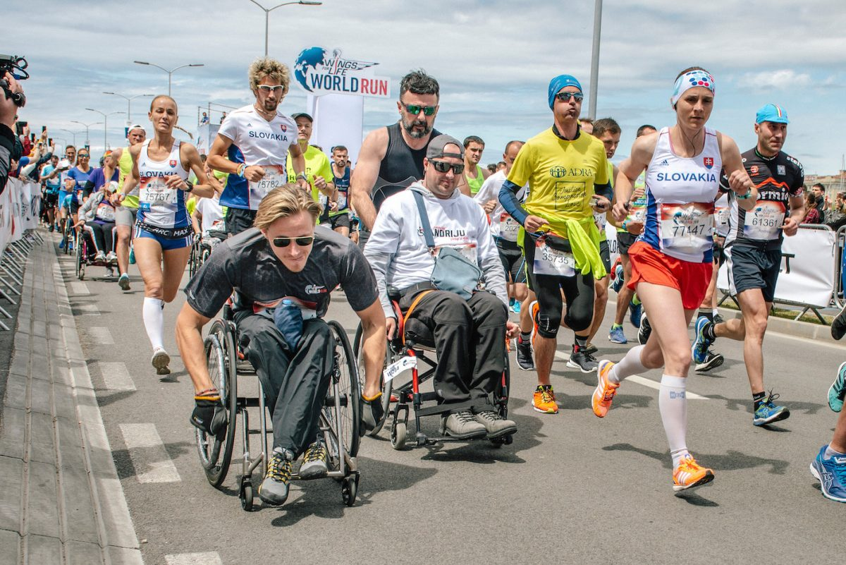 Zdroj: Wings for Life World Run/Red Bull Content Pool
